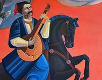 The cossacks song. The Cossack Golota