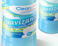 Label Design - Product CleanPlus+