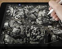 The Invitation - iPad & Apple pencil