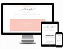 Pretty in Pink Baby Shower Event Website
