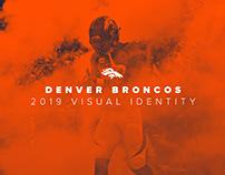 2019 Denver Broncos Visual Identity