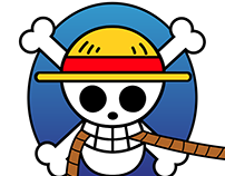 Redesign of One Piece logo