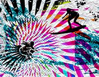 surf girls silhouettes again