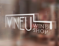 Vineu Wine Shop Identity
