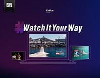 #WatchItYourWay - DStv Premium