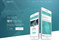 2015 Major promotion site design