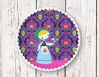 Suzani Toy Plate
