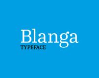 Blanga Typeface