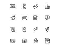 E commerce Icons Set