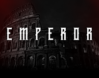 EMPEROR DISPLAY TYPEFACE