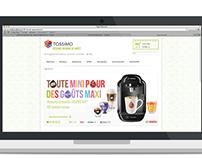 Revamp of tassimo.com
