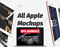 All Apple Mockups BIG BUNDLE