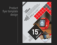 Product flyer / product ad design