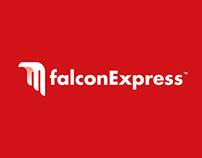 Falcon Express rebrand