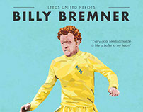 Football Heroes Infographic - Billy Bremner