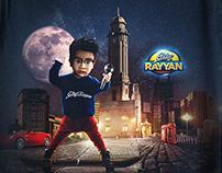 SWAG RAYYAN IN NIGHT AT TOWN