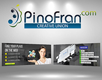 Designers of Pinofran.com developed new sliders