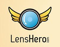 Lens Hero.com logo