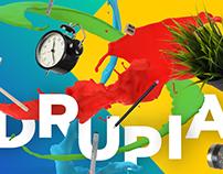 Drupia Typo Poster