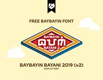 BAYBAYIN BAYANI 2019 (v2) Free Font