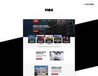 Company page | Client: Viba