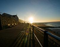 Charmouth at dawn.