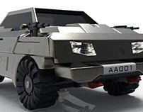 armored car concept