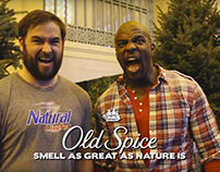 Terry Crews at the Old Spice Nature Exchange