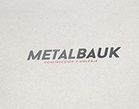 Propuesta imagen corporativa Metalbauk