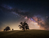 California Milky Way: The Edge of Perception