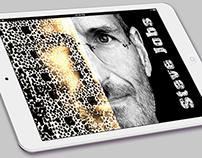 SteveJobs face card