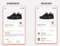 Product Page - UI Project
