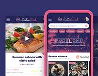 LISTENDISH // Food app concept