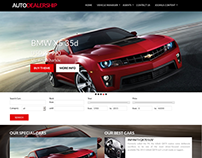 Auto Dealership - Car Joomla Template