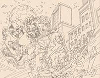 Adobe Creative Residency Project Batman Poster