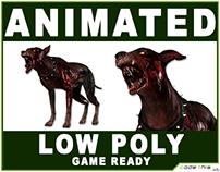Low Poly Zombie Dog