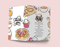 Bi Fold Cafe/Restaurant Menu