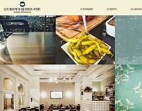 Web design | Restaurant Les buffets du vieux port