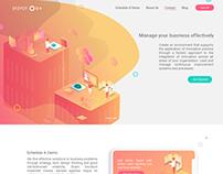 SYZYGY - UX UI Design - Web page
