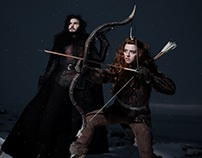 John Snow and Ygritte by Almost human cosband