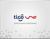 E-card Tigo Une - Propuesta