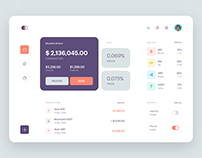 Cryptocurrency Exchange Dashboard