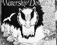 "Watership down 32""x40"""