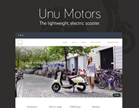 Unu Motors - The Lightweight Electric Scooter