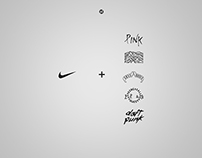 Nike Basketball X Classic Album Covers