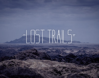 Lost Trails - Typeface