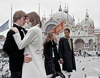 ANDRE BADI 2005 Photoshoot in Venice,Italy