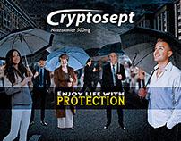 Cryptosept - under the rain concept