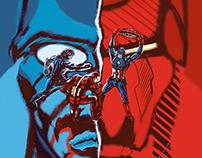 Civil War- Captain America poster film concept