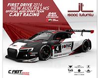 Graphic Design | ISAAC TUTUMLU - Audi R8 LMS